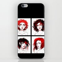 suits iPhone & iPod Skins featuring The Suits by AndytheLemon