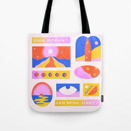 One Moment Can Bring Clarity Tote Bag