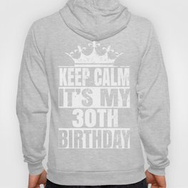 30 Years Old - 30th B-day Vintage Funny Retro Gift Hoody