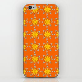 Vintage flower iPhone Skin