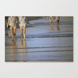 2's at the Beach Canvas Print