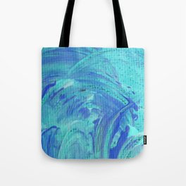 Friendship Waves Tote Bag