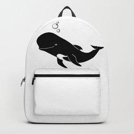 Short-finned pilot whale Backpack