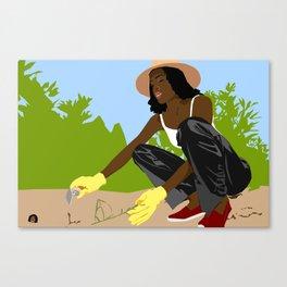 Greener Grass Canvas Print