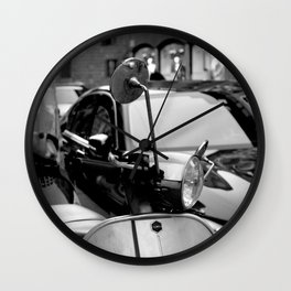 Milan - Motorcycles Wall Clock