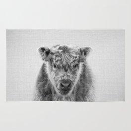Fluffy Cow - Black & White Rug