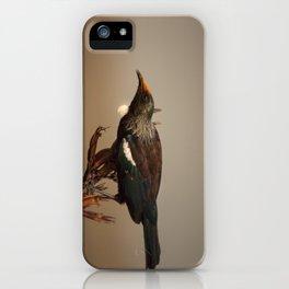 Tui on Flax iPhone Case