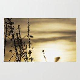Plant and sun Rug