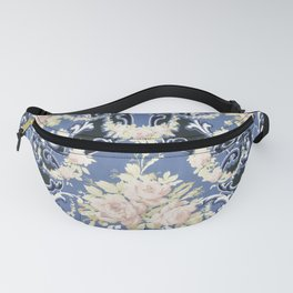 Floral bouquets and swags (ca 1905-1915) pattern in high resolution Fanny Pack
