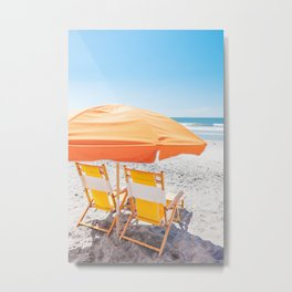 Folly Beach IV Metal Print