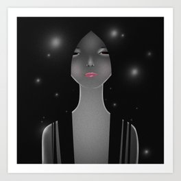 WOMEN1 Art Print