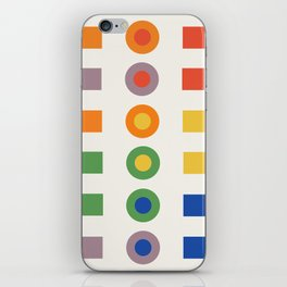 Chevreul Laws of Contrast of Colour, Plate VI, 1860, Remake iPhone Skin