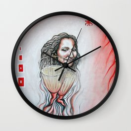 """They Devour Memories"" Wall Clock"