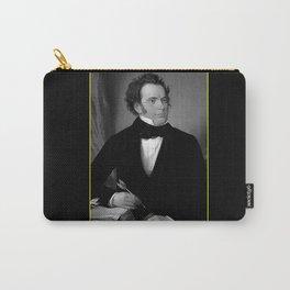 August rieder-Portrait of Schubert Carry-All Pouch