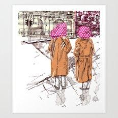 Edgware Road Art Print