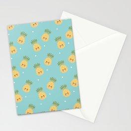 Kawaii Pineapple Stationery Cards