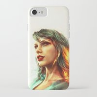 hot iPhone & iPod Cases featuring When the Sun Came Up by Alice X. Zhang