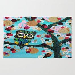 :: Gemmy Owl Loves Jewel Trees :: Rug