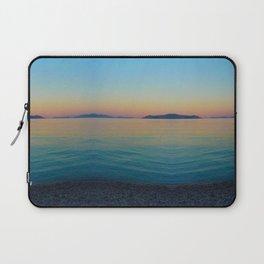 Sunset Greek Island Laptop Sleeve