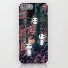Kodama in the woods iPhone 6 Slim Case