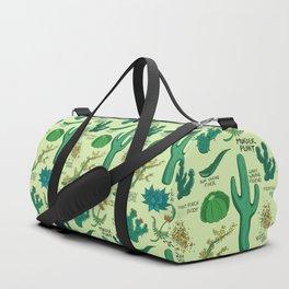 Native Desert Plants Duffle Bag