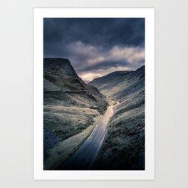 Honister Pass Art Print
