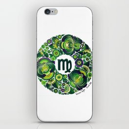 Virgo in Petrykivka style (with signature) iPhone Skin