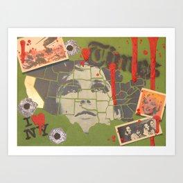 TIMES Art Print