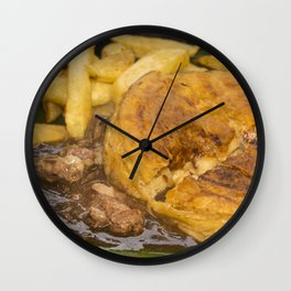 I want pie & i want some chips  Wall Clock