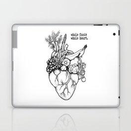 Whole foods, whole heart Laptop & iPad Skin
