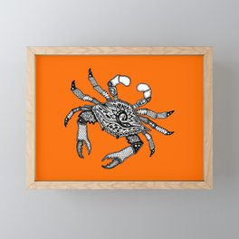 Fall Crab Framed Mini Art Print
