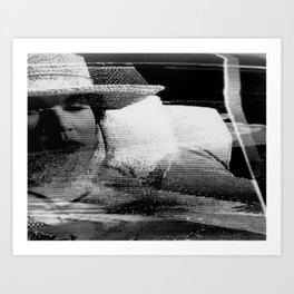 VideoCipher Hot Solder (CRT Series)-1996 ©Alex J.Andrade Art Print