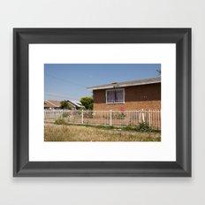 Compton. Framed Art Print