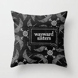 Orphan Girl Gang Throw Pillow