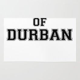 Property of DURBAN Rug