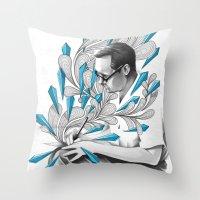 Written Throw Pillow
