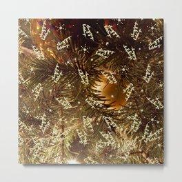 Happy holidays you magical Christmas tree, you! Metal Print