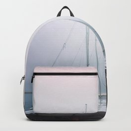 Beached Boats Backpack