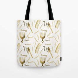 Good Hair Day – Gold Palette Tote Bag