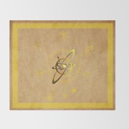 aNu Aureum Universo Throw Blanket