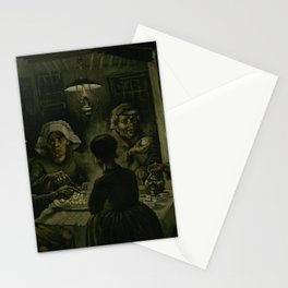 The Potato Eaters Stationery Cards