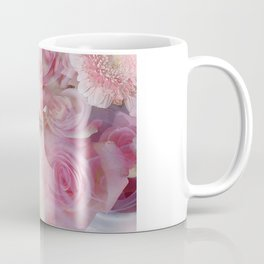 Serenity Prayer Pink Bouquet Coffee Mug