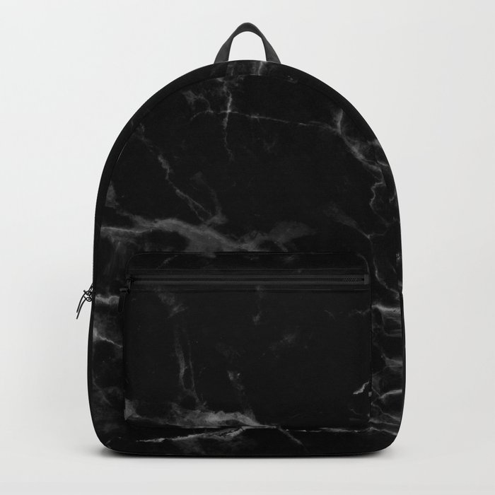 Black Marble Backpack