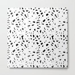 Abstract Freeform Metal Print