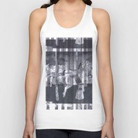 glitch Tank Tops featuring Glitch  by Electra Withey
