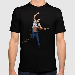 Typography Art of Boss of the Rock Bruce Frederick Springsteen T-shirt
