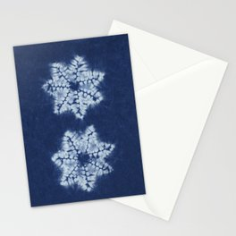 Shibori five Stationery Cards