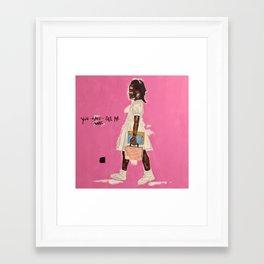 Ruby Bridges Framed Art Print