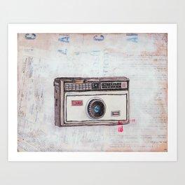 Kodak Instamatic 100 Art Print