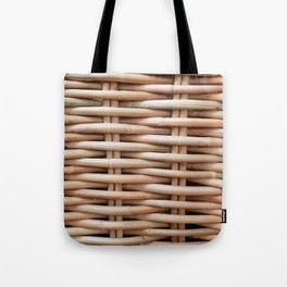 Rustic basket Tote Bag